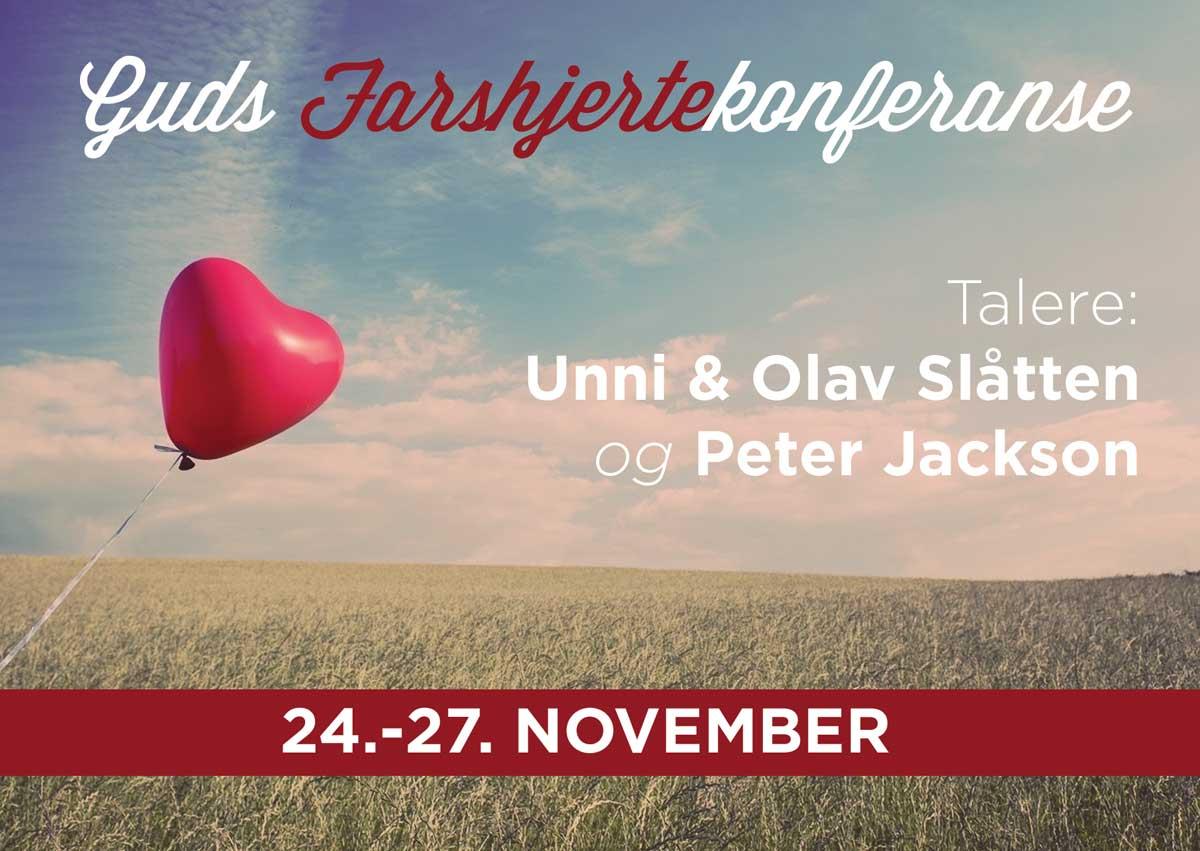 Farshjertekonferanse 24.-27. november